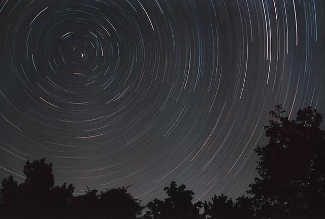 вращение звезд вокруг полюса